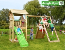 Jungle Gym | Casa + Climb Module X'tra | DeLuxe | Blauw