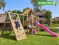 Jungle Gym | Cubby + Climb Module X'tra | DeLuxe | Blauw