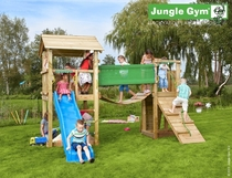 Jungle Gym | Casa + Bridge Module | DeLuxe | Blauw