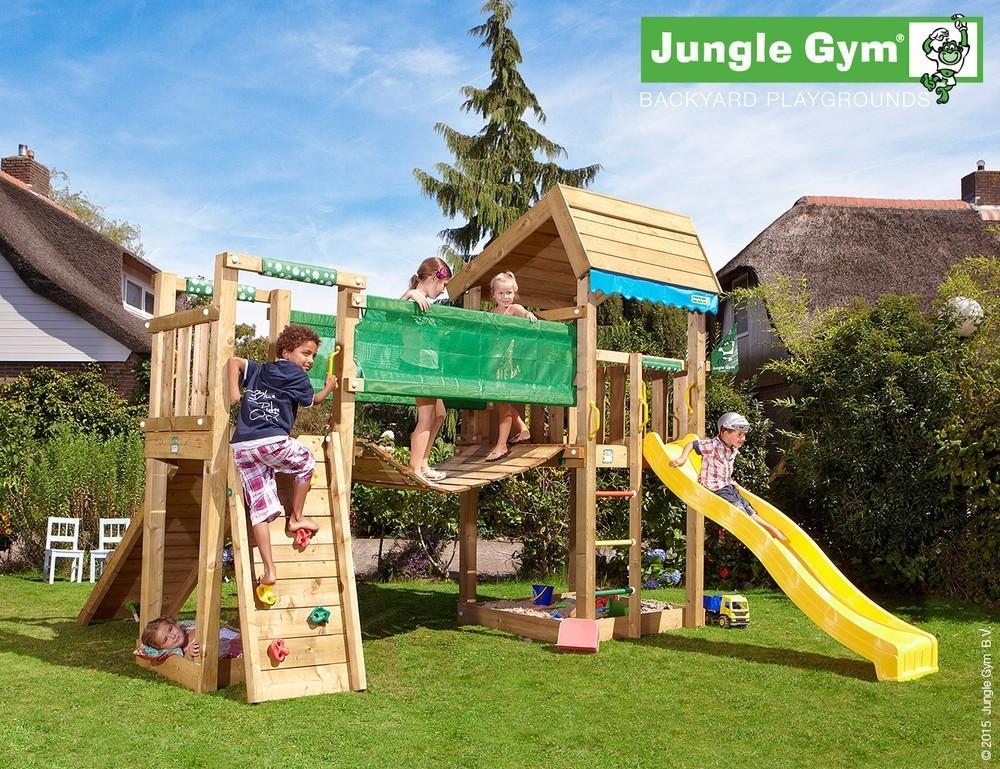 Jungle Gym | Home + Bridge Module | DeLuxe | Lichtgroen