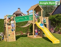 Jungle Gym | Mansion + Bridge Module | DeLuxe | Blauw