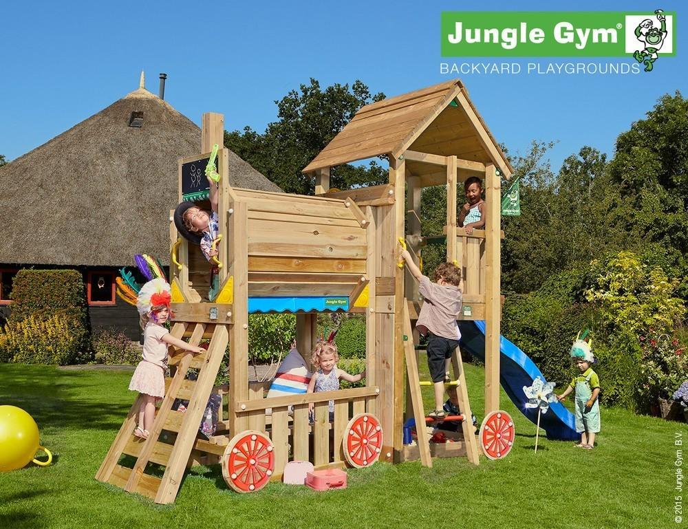 Jungle Gym | Club + Train Module | DeLuxe | Paars