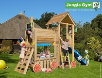 Jungle Gym | Club + Train Module | DeLuxe | Rood
