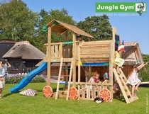 Jungle Gym | Shelter + Train Module | DeLuxe | Blauw