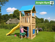Jungle Gym | Castle + Playhouse 125 | DeLuxe | Blauw