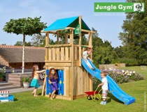 Jungle Gym | Hut + Playhouse 125 | DeLuxe | Blauw
