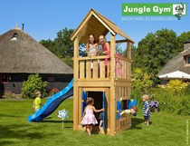Jungle Gym | Club + Playhouse 12 | DeLuxe | Blauw