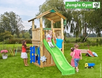 Jungle Gym | Casa + Playhouse 125 | DeLuxe | Blauw