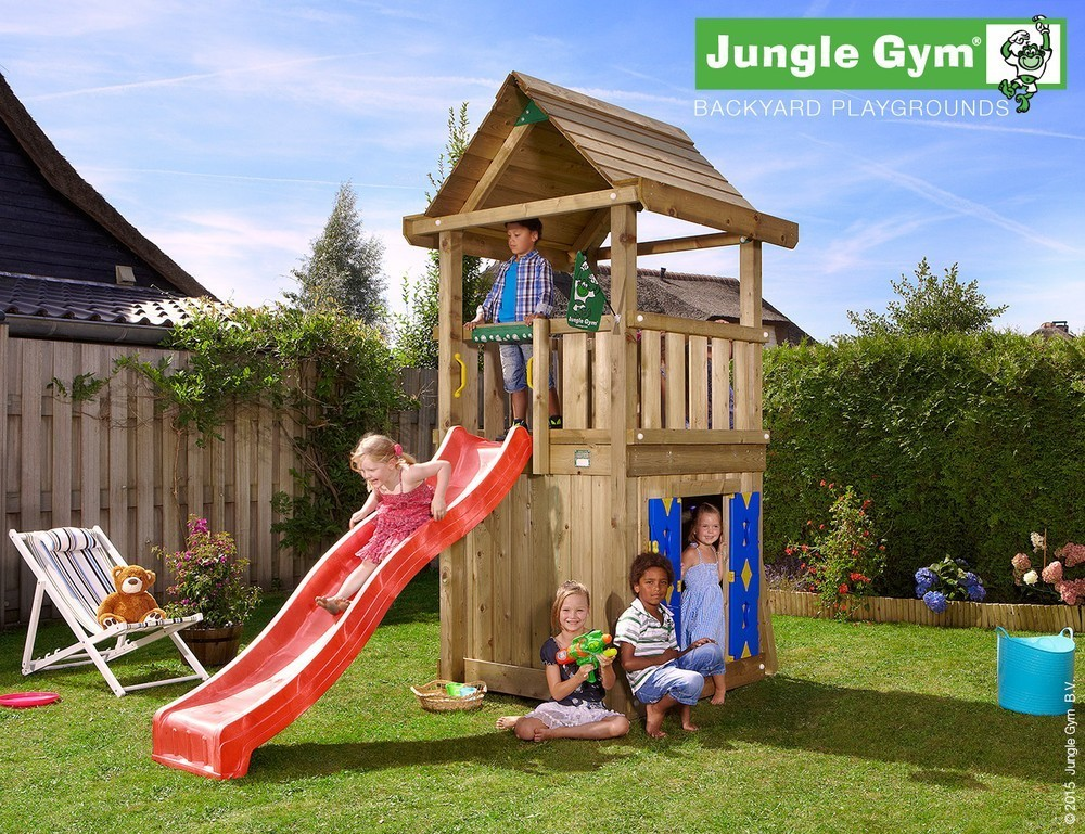 Jungle Gym | House Playhouse 125 | DeLuxe | Paars