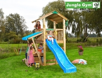 Jungle Gym | Casa + Mini Market Module | DeLuxe | Blauw