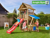 Jungle Gym | House + Mini Market | DeLuxe | Blauw
