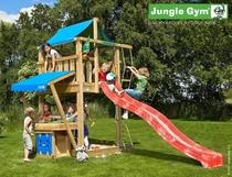 Jungle Gym | Lodge + Mini Market | DeLuxe | Blauw