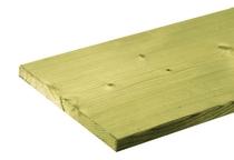 CarpGarant | NE vuren geschaafde plank 18 x 195 | 360 cm