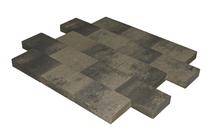 MBI | MB Vlakstone 30x20x6 | Grijs/zwart