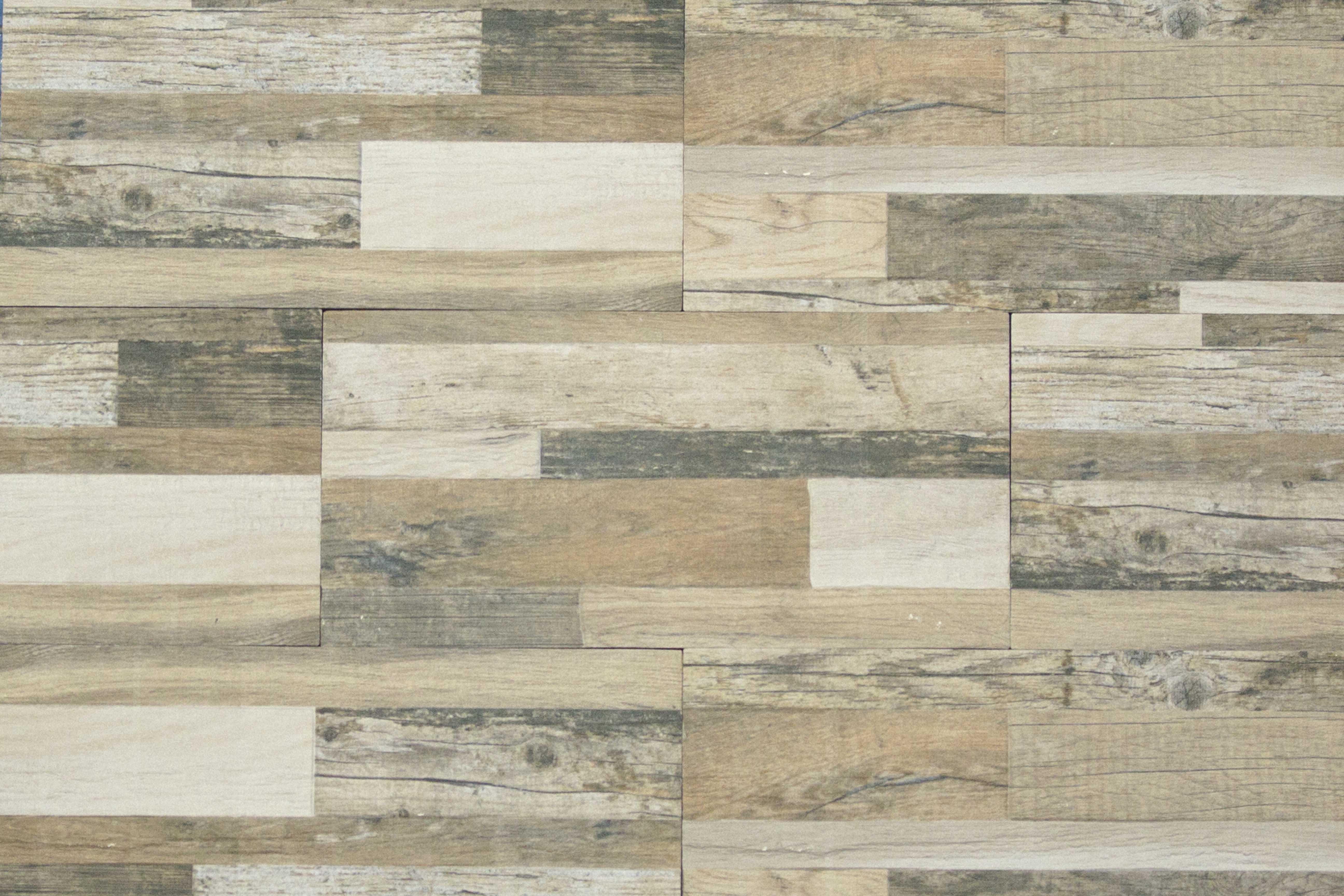 MBI | Muro Ornamento Pavéwall Wood 11x45 | Brown