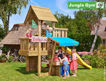 Jungle Gym | Cubby + Mini Market module | DeLuxe | Blauw