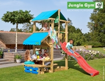 Jungle Gym | Hut + Mini Picnic | DeLuxe | Blauw