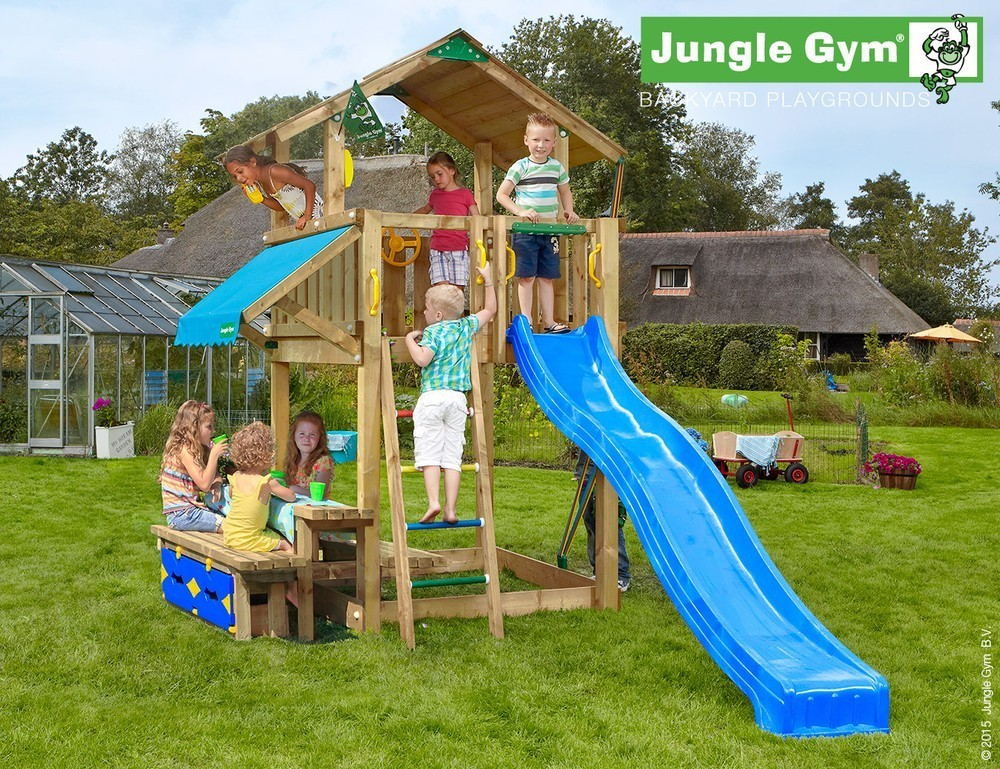 Jungle Gym | Chalet + Mini Picnic | DeLuxe | Geel