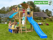 Jungle Gym | Chalet + Mini Picnic | DeLuxe | Blauw