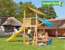 Jungle Gym | Shelter + Mini Picnic | DeLuxe | Blauw