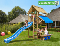Jungle Gym | Cabin + Mini Picnic | DeLuxe | Blauw