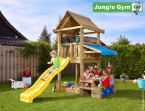 Jungle Gym | House + Mini Picnic | DeLuxe | Blauw