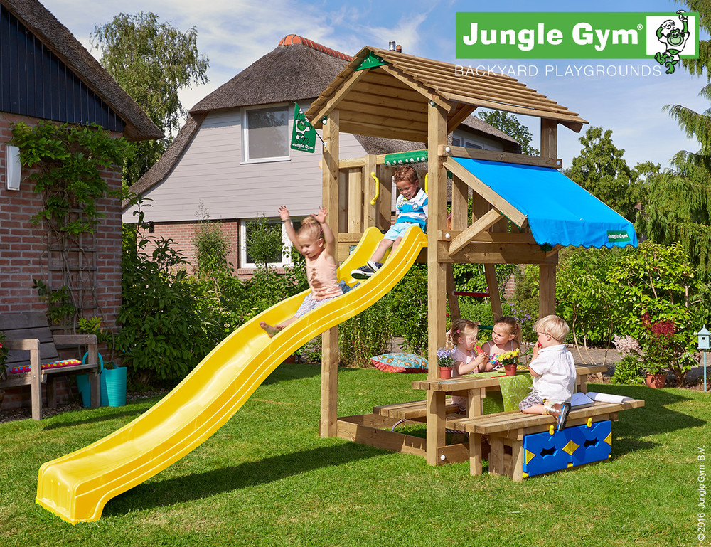 Image of Jungle Gym | Cottage + Mini Picnic | DeLuxe | Blauw