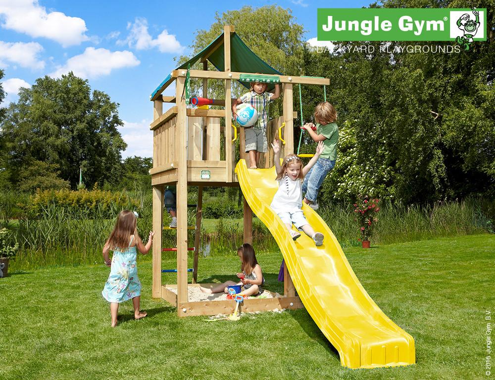 Jungle Gym | Lodge + Mini Picnic | DeLuxe | Rood