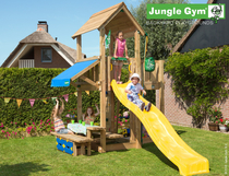 Jungle Gym | Mansion + Mini Picnic | DeLuxe | Blauw