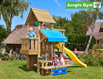 Jungle Gym | Cubby + Mini Picnic | DeLuxe | Blauw