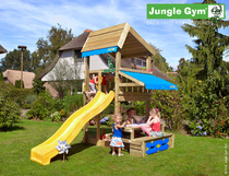 Jungle Gym | Home + Mini Picnic Module | DeLuxe | Blauw