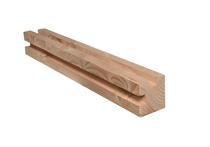 CarpGarant | Douglas Hoeksponning paal 9,5 x 9,5 x 300cm