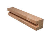 CarpGarant | Douglas Eindsponning paal 9,5 x 9,5 x 300cm