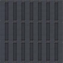 CarpGarant | 6080 | Composiet scherm antraciet | 180 x 180 cm