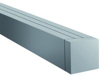 CarpGarant | 670 | Aluminium paal hol | 6,8 x 6,8 x 190 cm | Alu