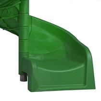 KBT| Spiraalglijbaan in HPDE Groen | 1500 mm