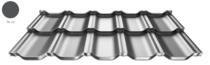 ArcelorMittal | Dakpanplaat | Zet® modular | Antraciet | 35 x 118 cm