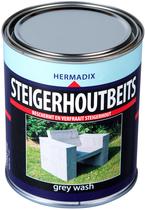 Hermadix | Steigerhouten beits Grey Wash | 750 ml