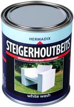 Hermadix | Steigerhouten beits White Wash | 750 ml