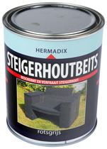 Hermadix | Steigerhouten beits Rots Grijs | 750 ml