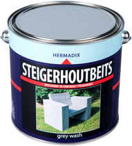 Hermadix | Steigerhouten beits Grey Wash | 2500 ml