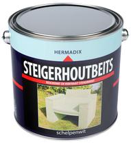 Hermadix | Steigerhouten beits Schelpen Wit | 2500 ml