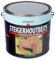 Hermadix | Steigerhouten beits Zand Beige | 2500 ml