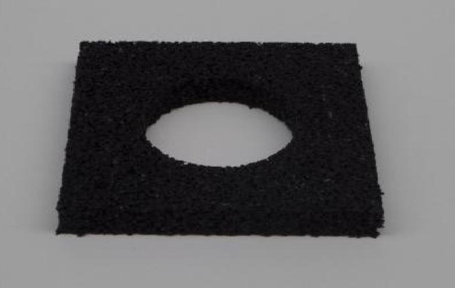 Westwood | Rubberen tegeldrager met opening | 10 mm