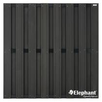 Elephant | Design tuinscherm 180 x 180 cm | Antraciet