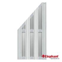 Elephant | Design tuinscherm 90x180/93 cm | Lichtgrijs