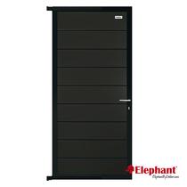 Elephant | Tuindeur Modular | 90x180 cm | Antraciet/Antraciet