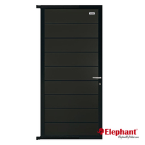 Elephant | Modular deur Antraciet/Antraciet | 90 x 180 cm
