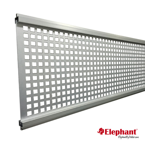 Elephant   Modular Deco lamel   Rooster   Aluminium
