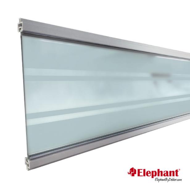 Elephant   Modular Deco lamel   Transparant   Aluminium